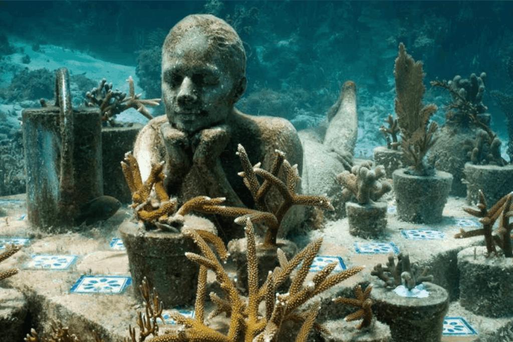 Lugares para visitar en Cancún - Museo Subacuático de Arte