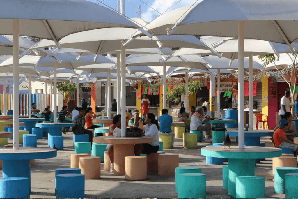 Lugares para visitar en Cancún - Parque de Las Palapas
