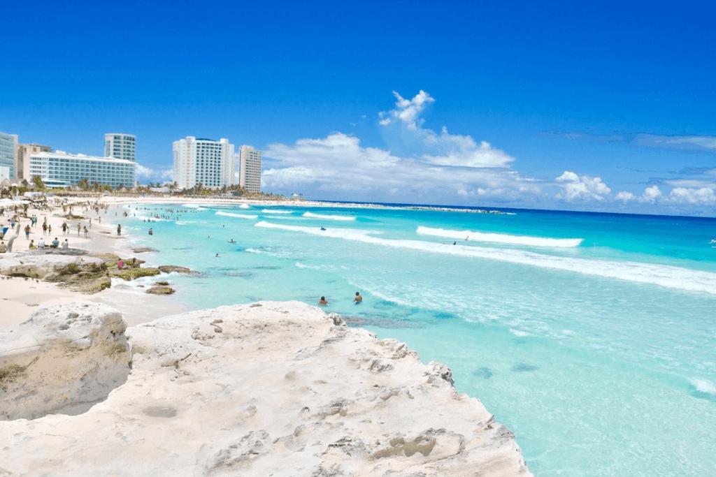 Playas de Cancún - Playa Chac Mool