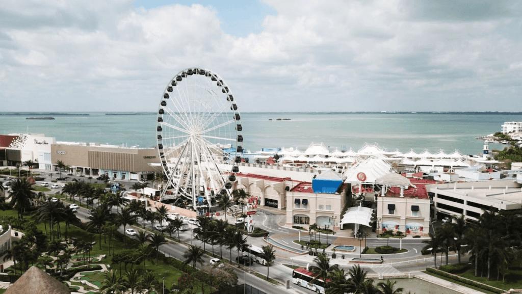 plaza la isla cancun gran rueda