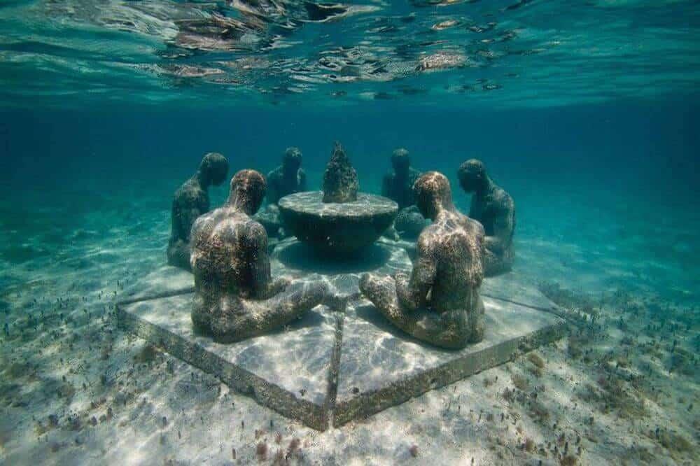 que hacer en cancun - museo subacuatico