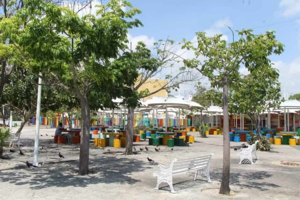 que hacer en cancun - parque de las palapas