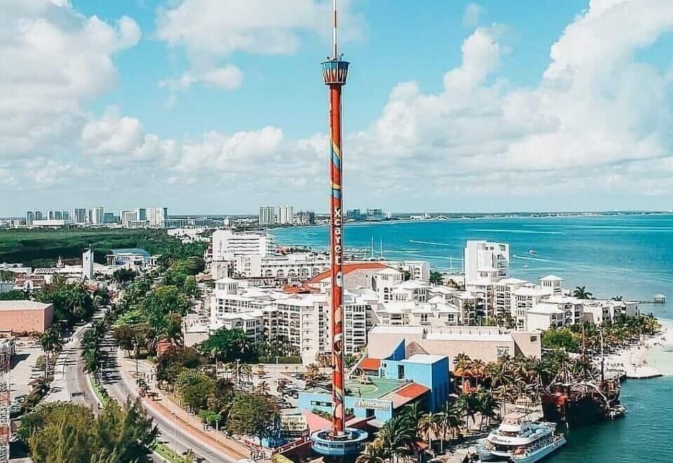 que hacer en cancun - torre escenica