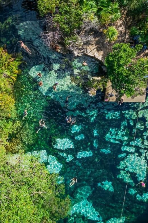Cenotes Playa del Carmen - Cenote Azul