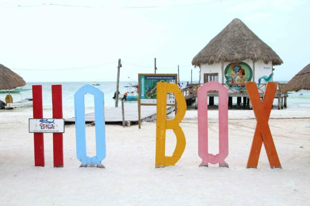 Holbox Quintana Roo - Letrero