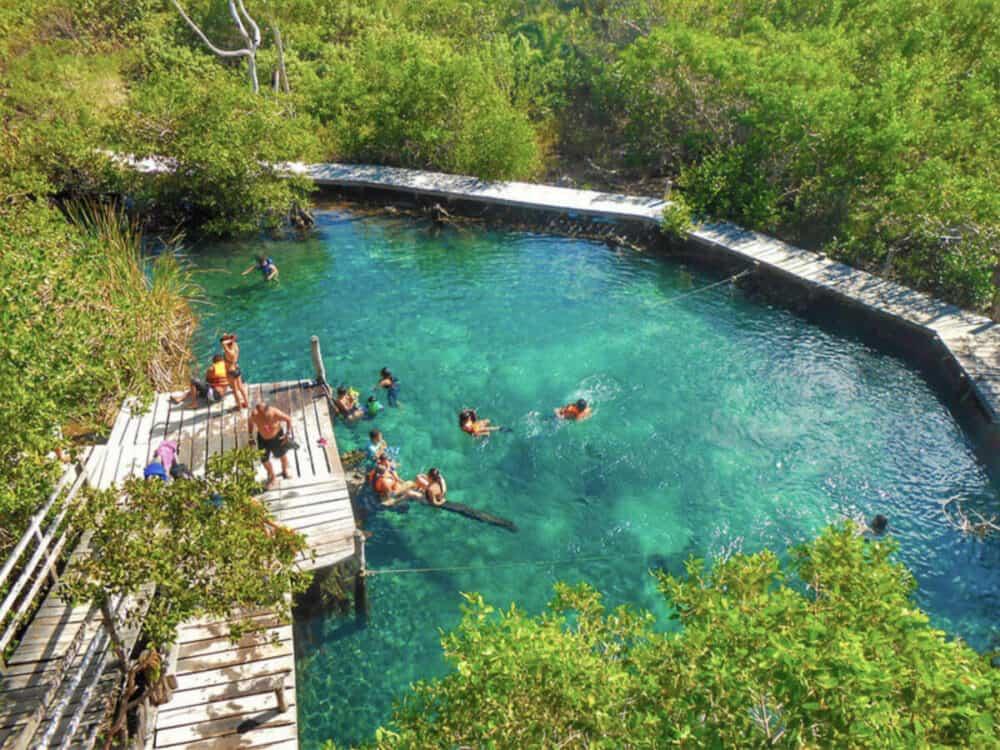 Holbox Quintana Roo - Ojo de agua Yalahau