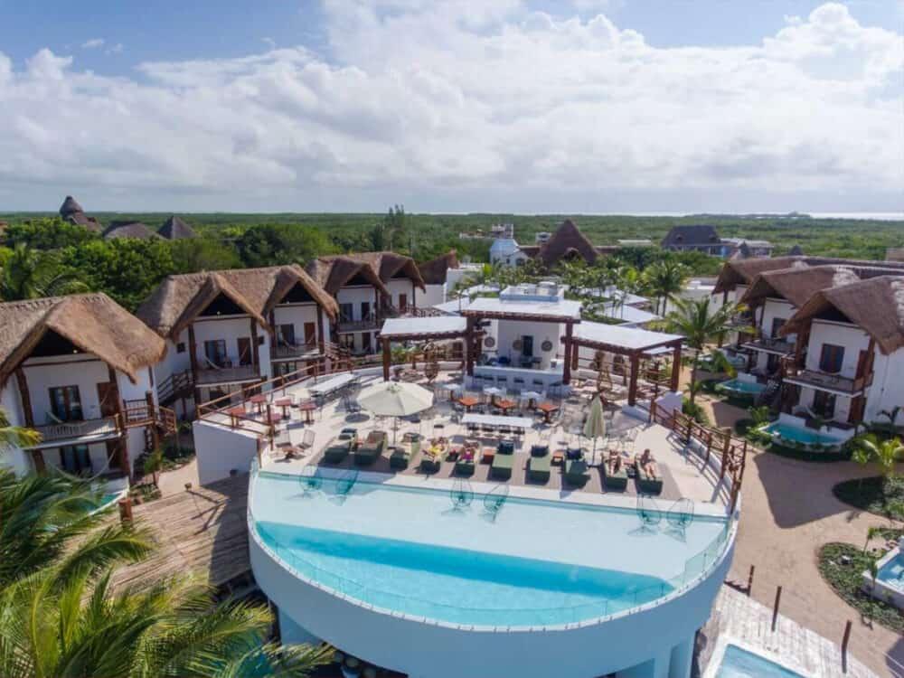 Holbox Quintana Roo - Villa Palapas