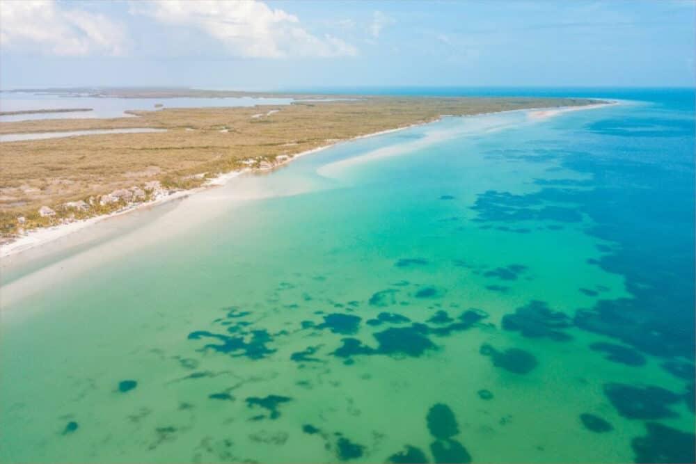 Holbox Quintana Roo - Vista aérea