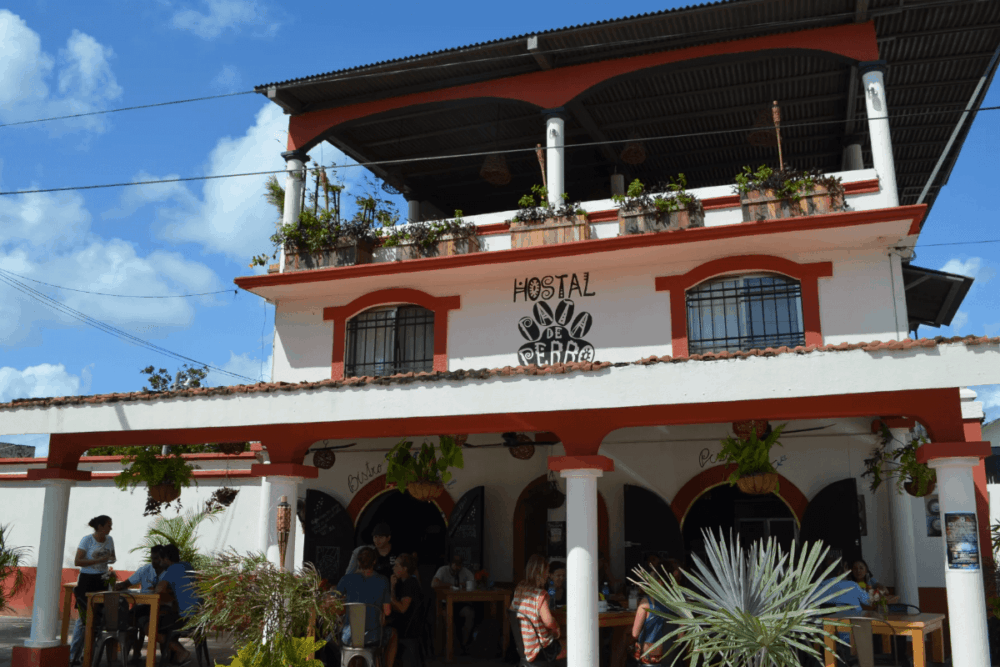 Hoteles en Bacalar - Hostal & Suites Pata de Perro