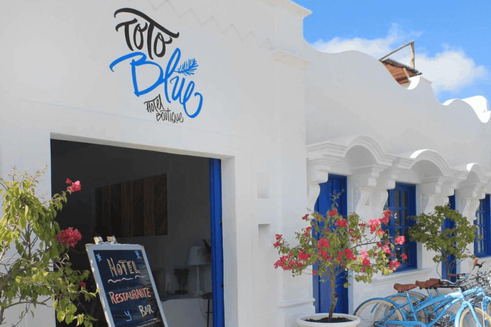 Hoteles en Bacalar - Hotel Boutique Toto Blue