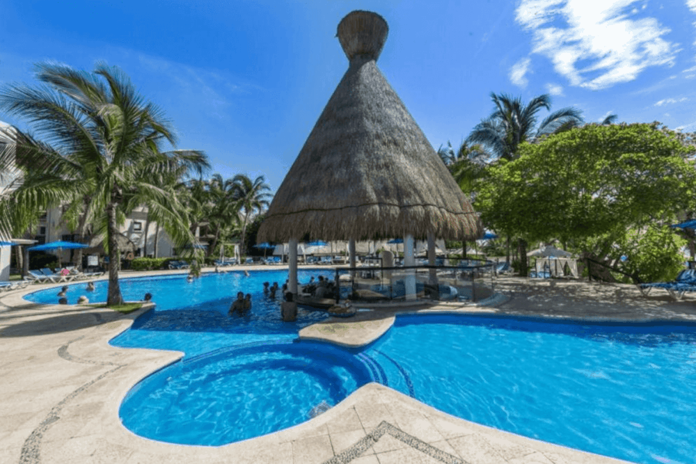 Hoteles en Playa del Carmen todo incluido - Hotel The Reef Playacar