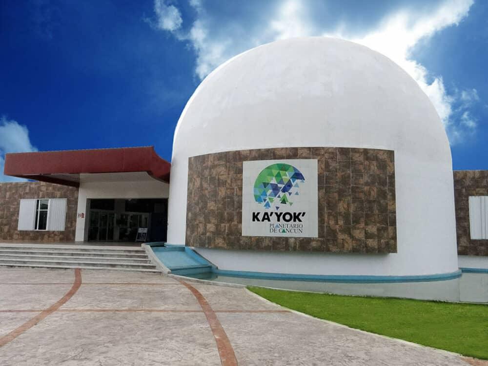 Lugares turísticos de Cancún - Planetario Ka Yok