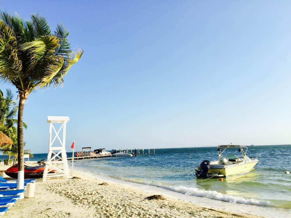 Lugares turísticos de Cancún - Playa Linda