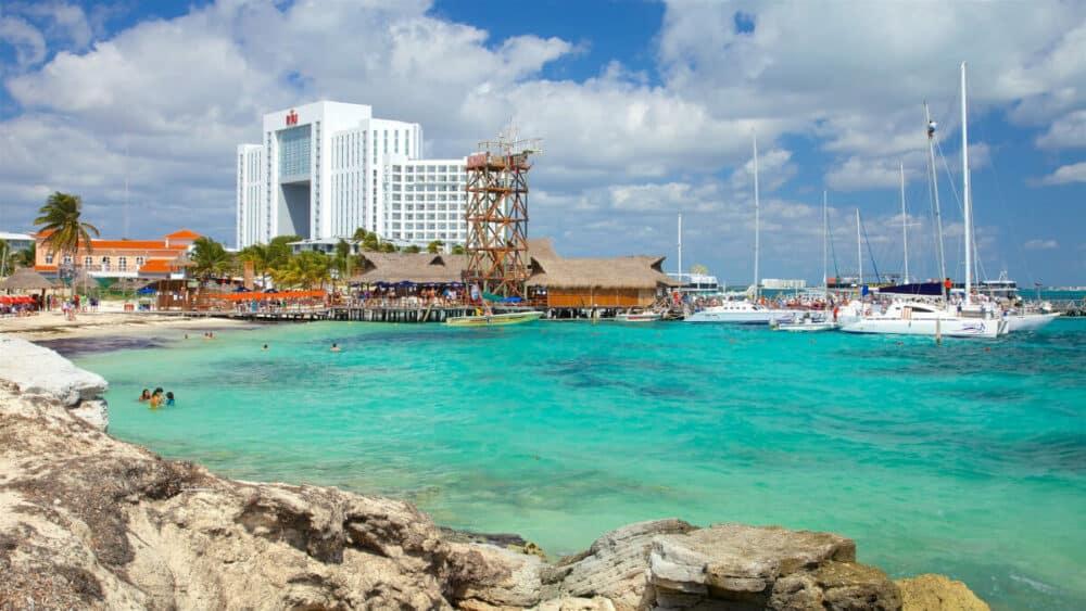 Lugares turísticos de Cancún - Playa Tortuga