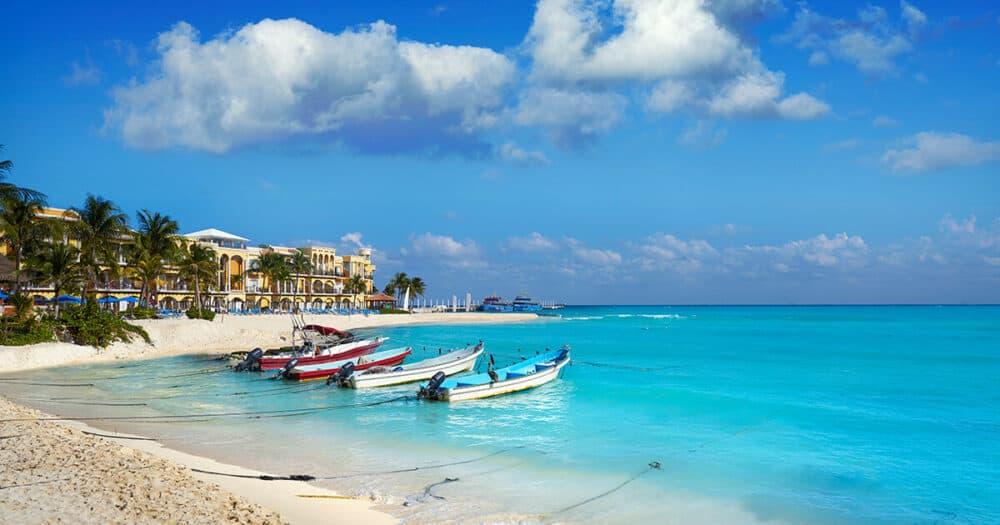 Lugares turísticos de Cancún - Playa del Carmen