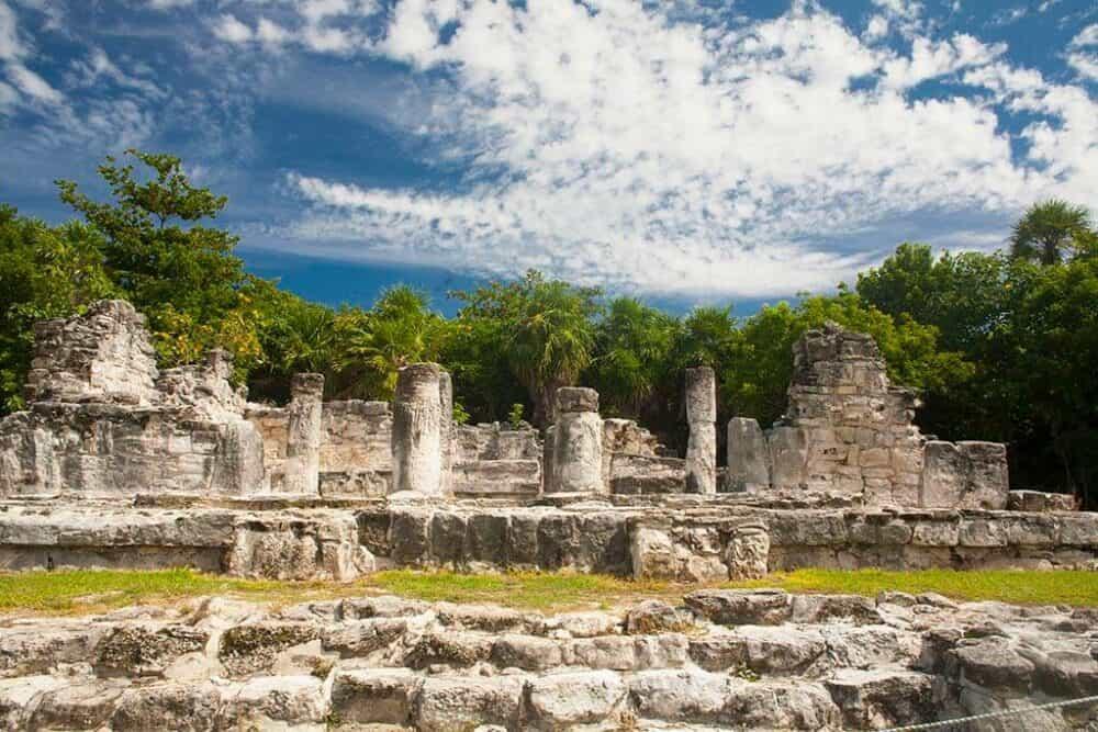 Lugares turísticos de Cancún - Zona Arqueológia El Rey