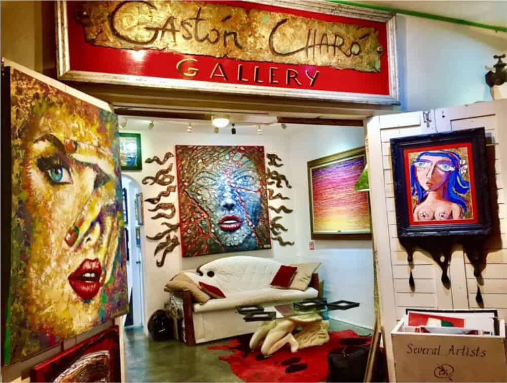 Playa del Carmen Quinta Avenida - Galería de Arte Gastón Charó