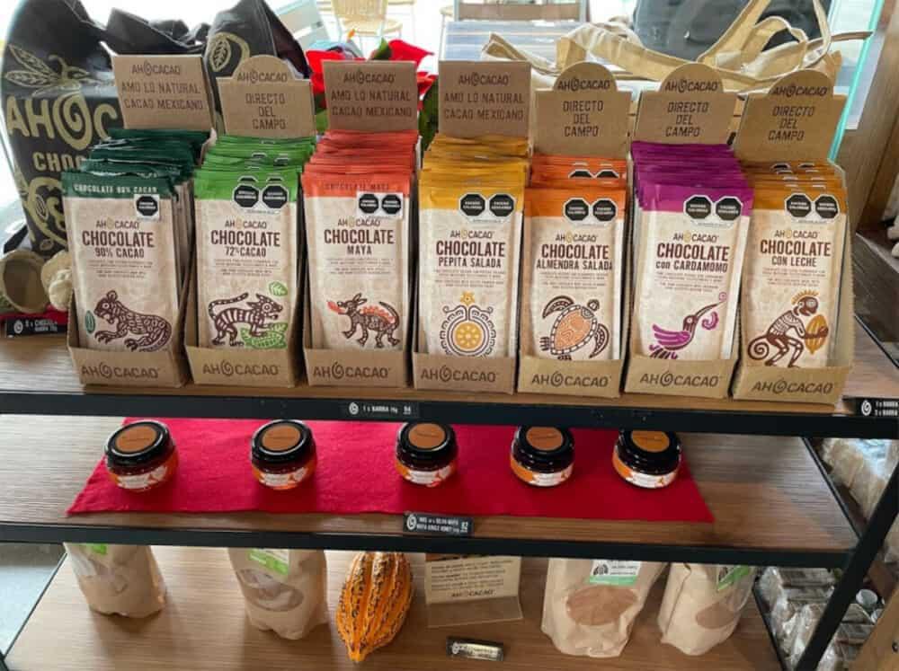 Playa del Carmen Quinta Avenida - Productos de Ah Cacao