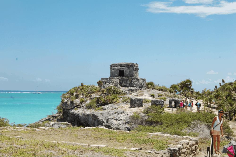 Ruinas de Tulum - Templo del Dios Viento