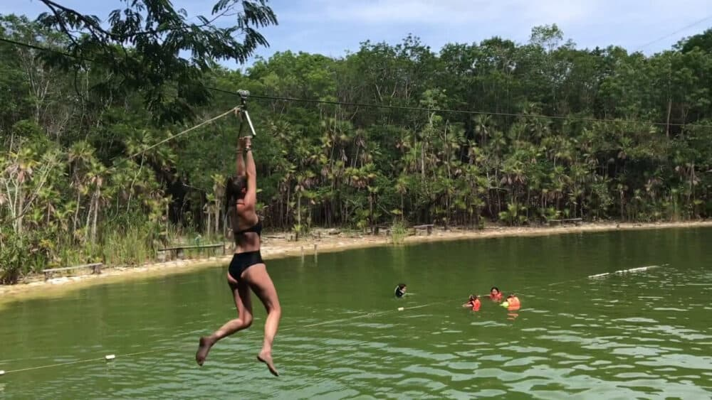 Ruta de los Cenotes Puerto Morelos - Las Mojarras