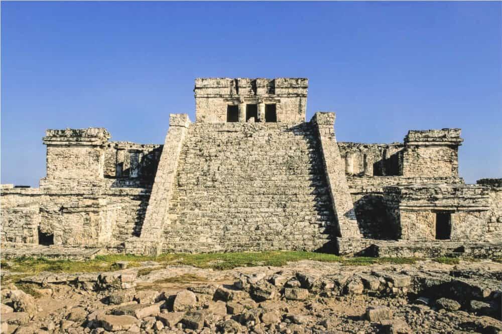 Zona Arqueológica Tulum - El Castillo
