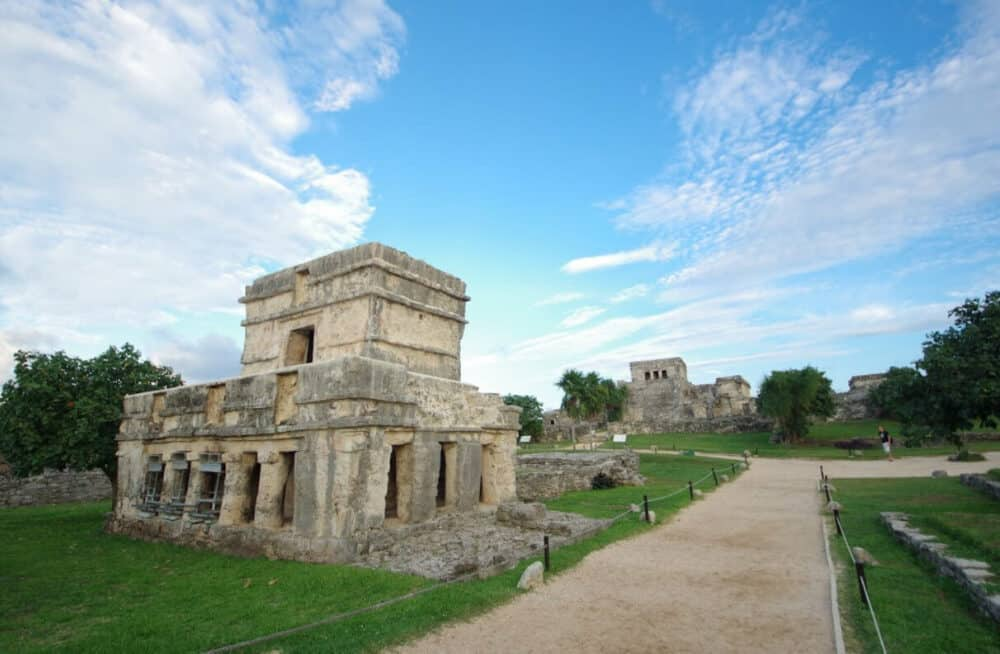 Zona Arqueológica Tulum - Templo de los Frescos