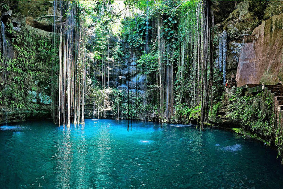 Cenotes de Yucatán - Cenote Ik kil