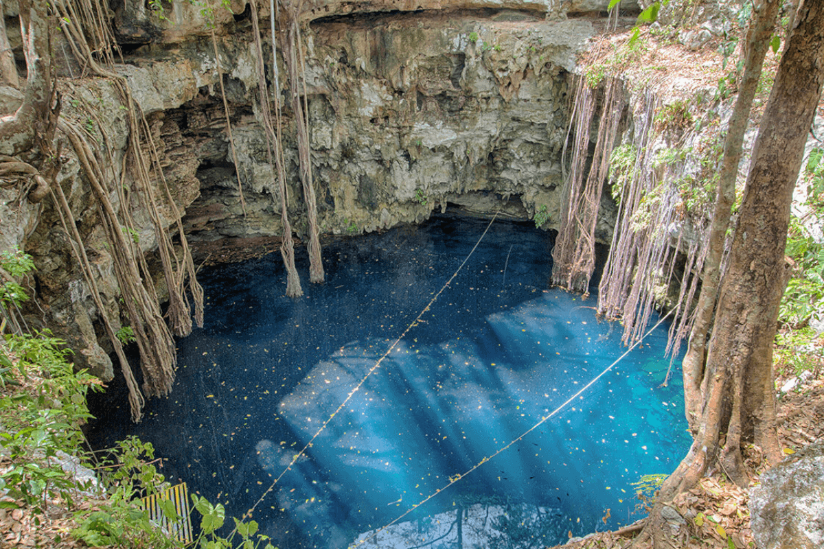 Cenotes de Yucatán - Cenote Lol Ha