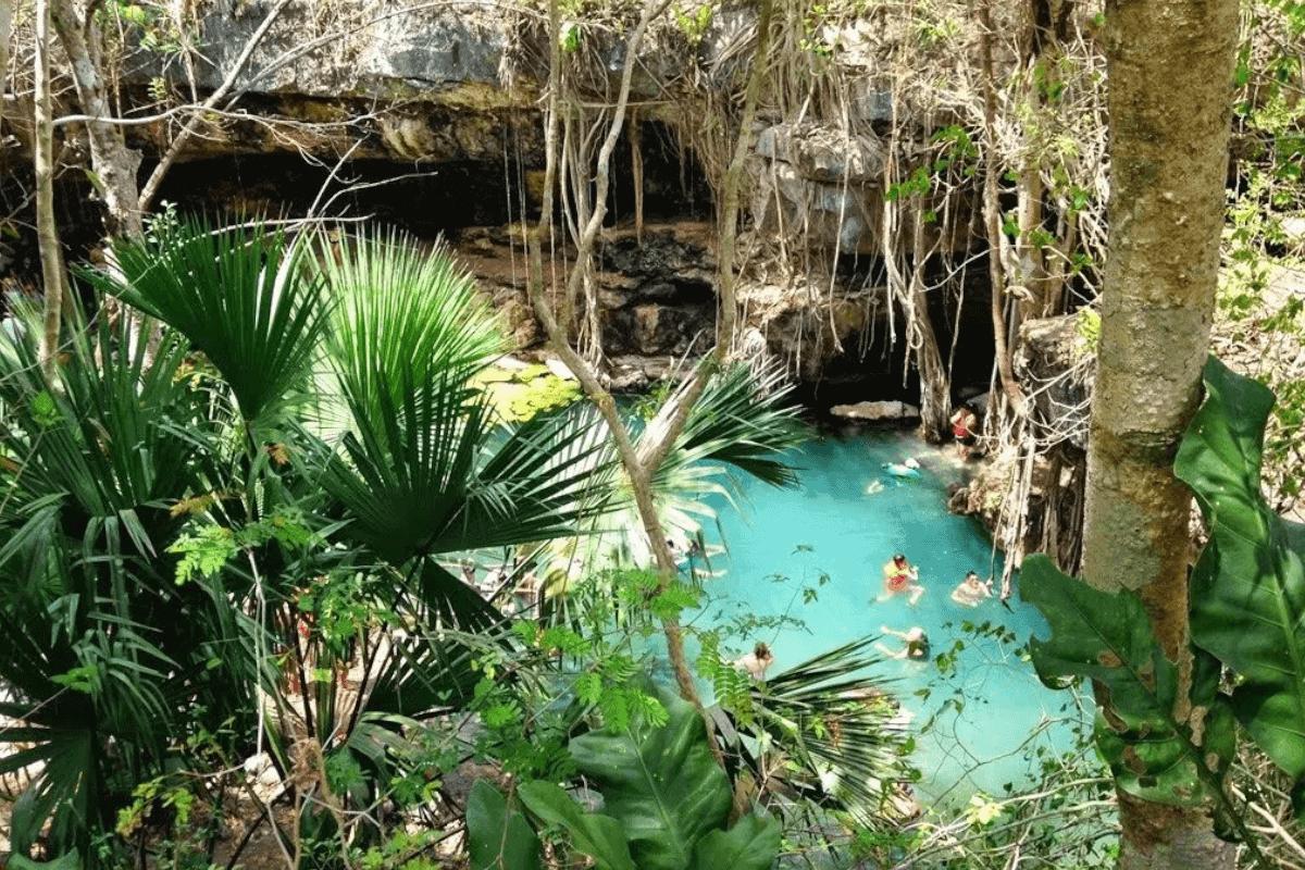 Cenotes de Yucatán - Cenote X Batún