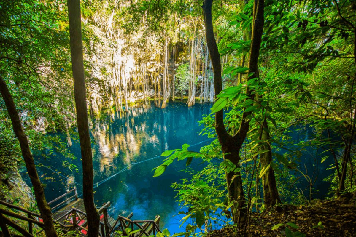 Cenotes de Yucatán - Cenote de Yokdzonot