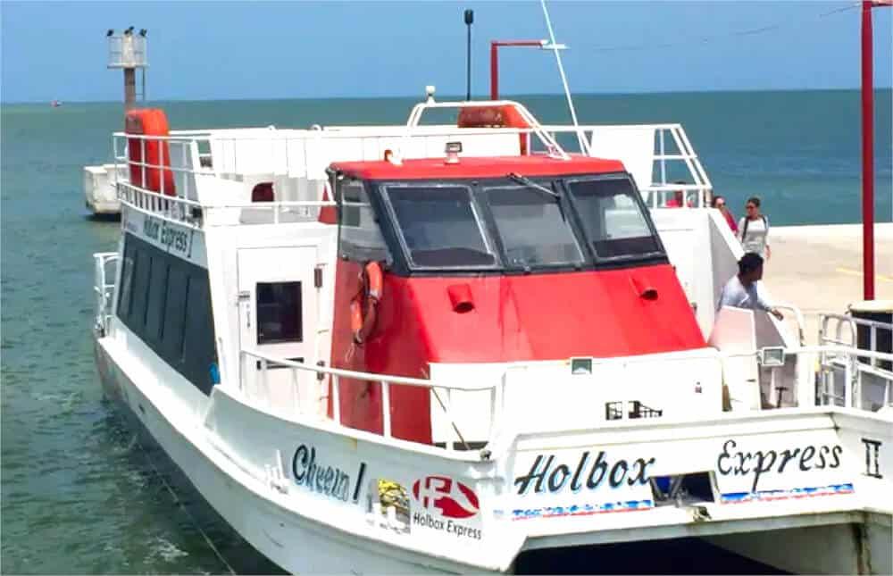Cómo llegar a Holbox - Ferry