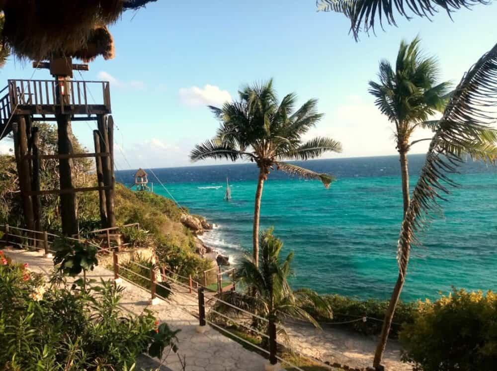 Garrafón Isla Mujeres - Instalaciones del parque