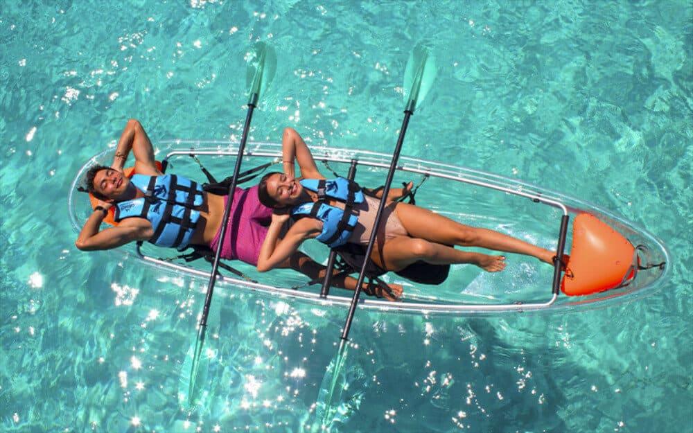 Garrafón Isla Mujeres - Kayaks