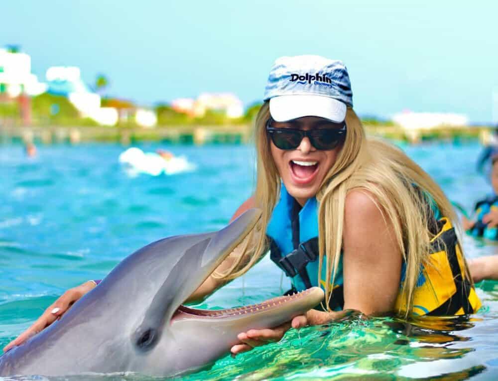 Garrafón Isla Mujeres - Nado con delfines