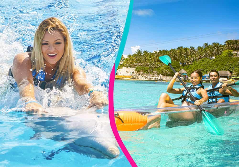 Garrafón Isla Mujeres - Royal Garrafon + Swim Adventure
