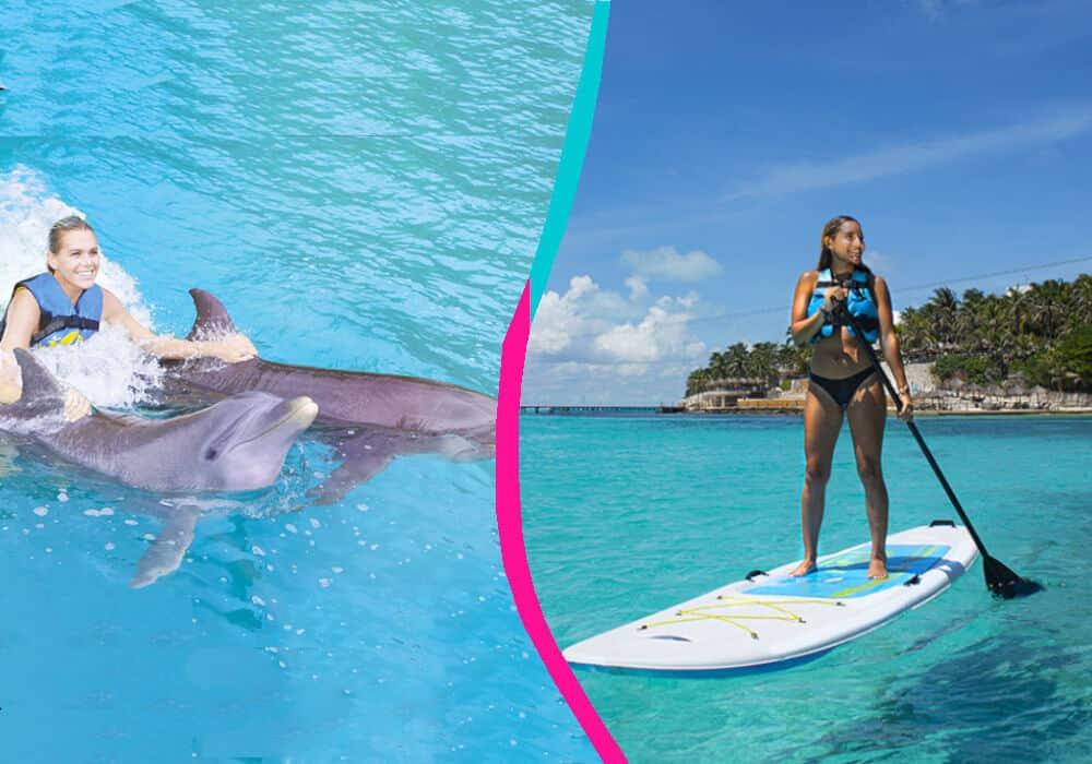 Garrafón Isla Mujeres - Royal Garrafon VIP + Dolphin Royal Swim