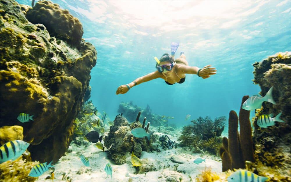 Garrafón Isla Mujeres - Snorkel