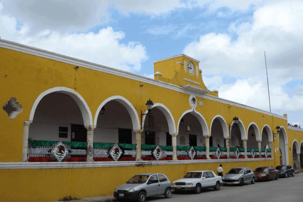 Izamal Yucatán - El Palacio Municipal