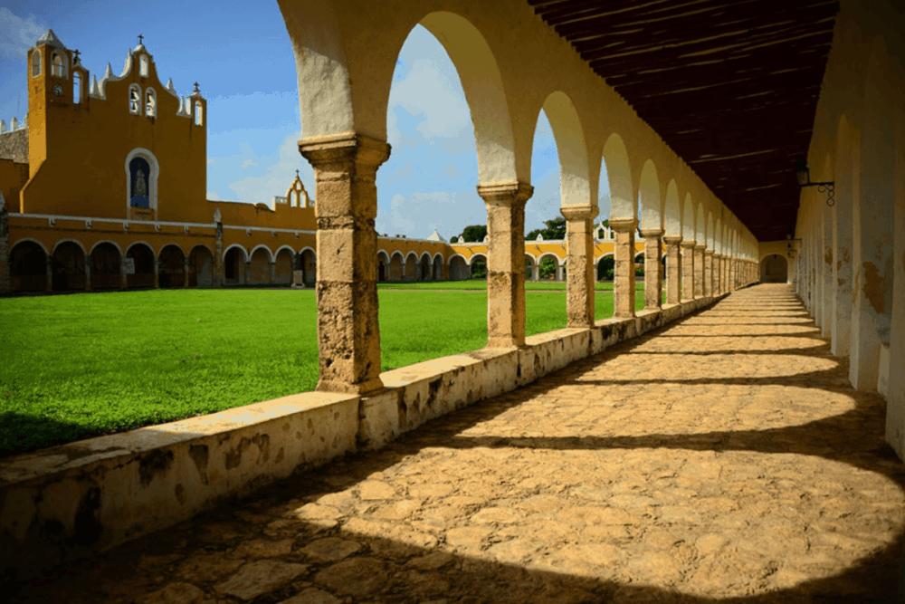 Izamal Yucatán - El convento de San Antonio de Padua
