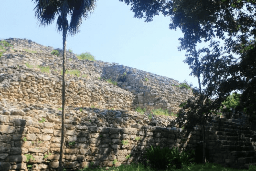 Izamal Yucatán - Pirámide Itzamatúl