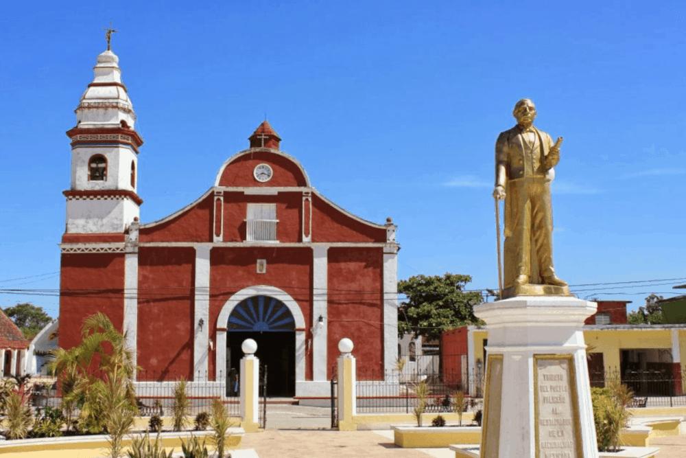 Palizada Campeche - La Parroquia de San Joaquín