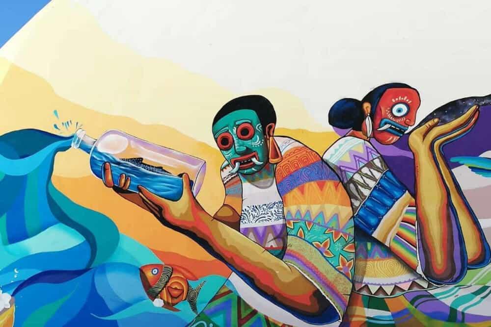 Qué hacer en Holbox - Murales