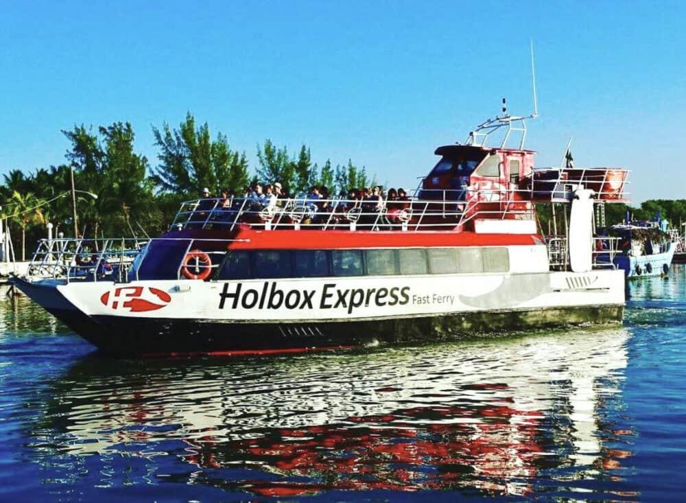 Qué hacer en Holbox - Viaje en ferry