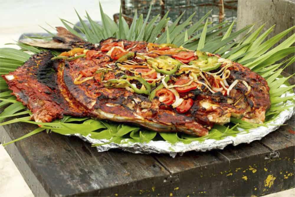 Qué hacer en Isla Mujeres - Pescado Tikin Xic