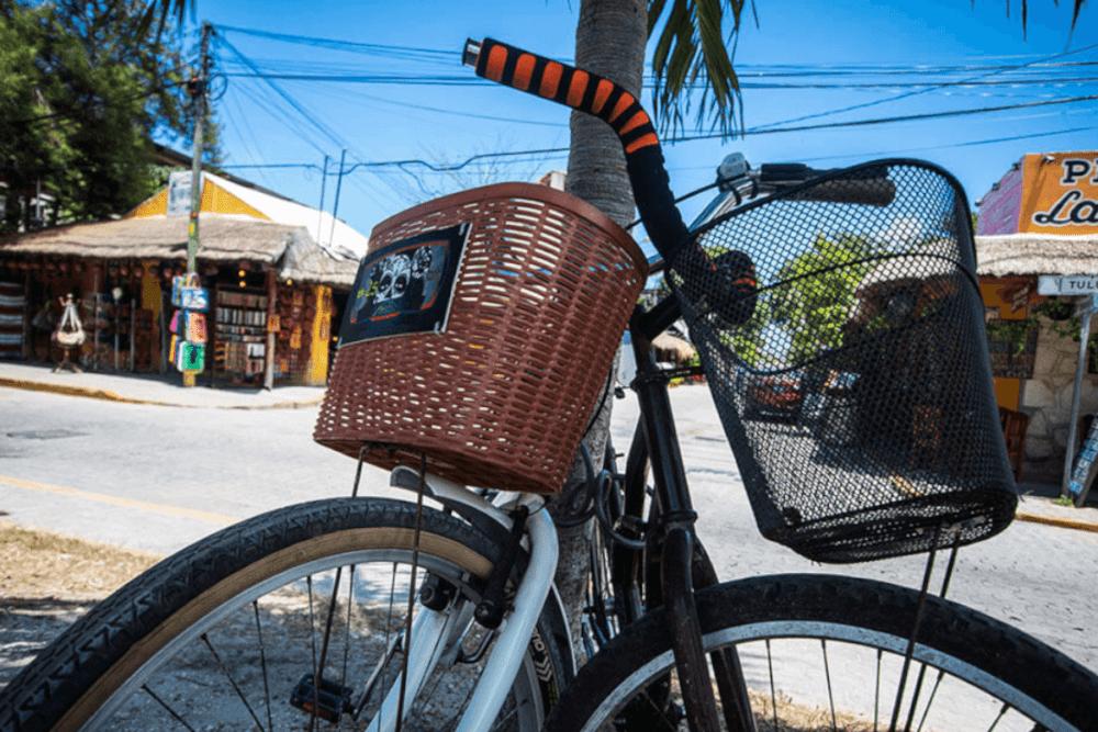 Sian Ka'an Quintana Roo - Recorrido en bicicleta