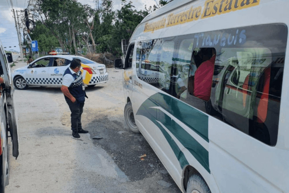 Sian Ka'an Quintana Roo - Transporte público