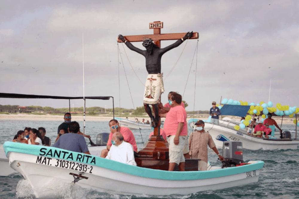 Sisal Yucatán - Celebración del Cristo Negro
