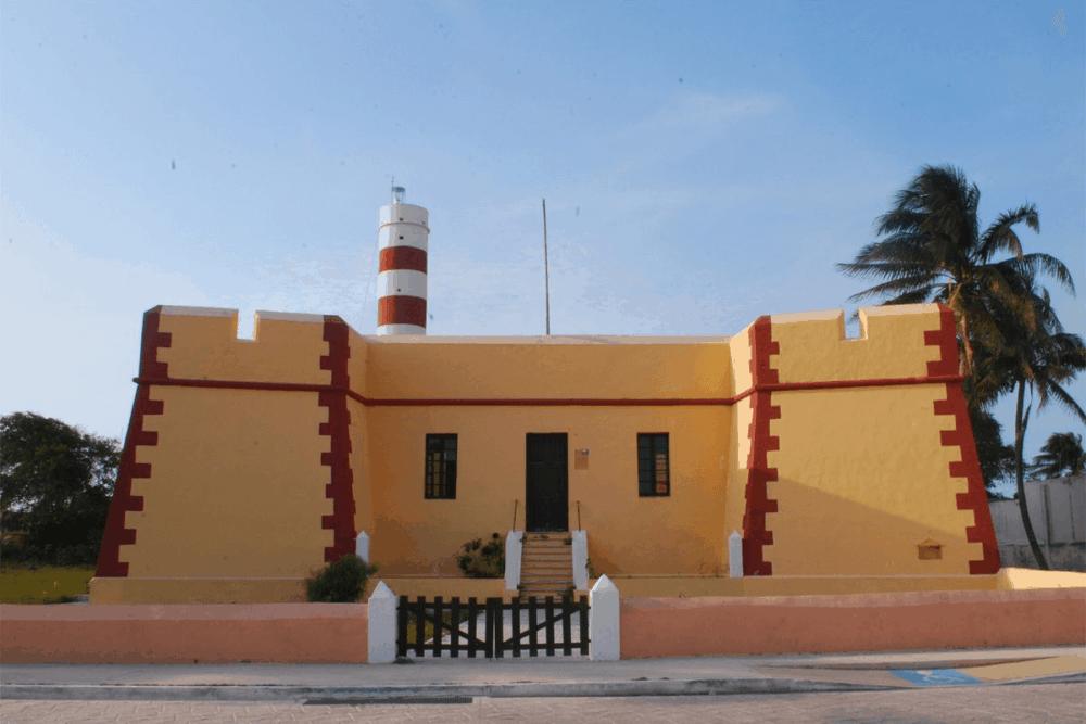 Sisal Yucatán - El Fuerte de Santiago