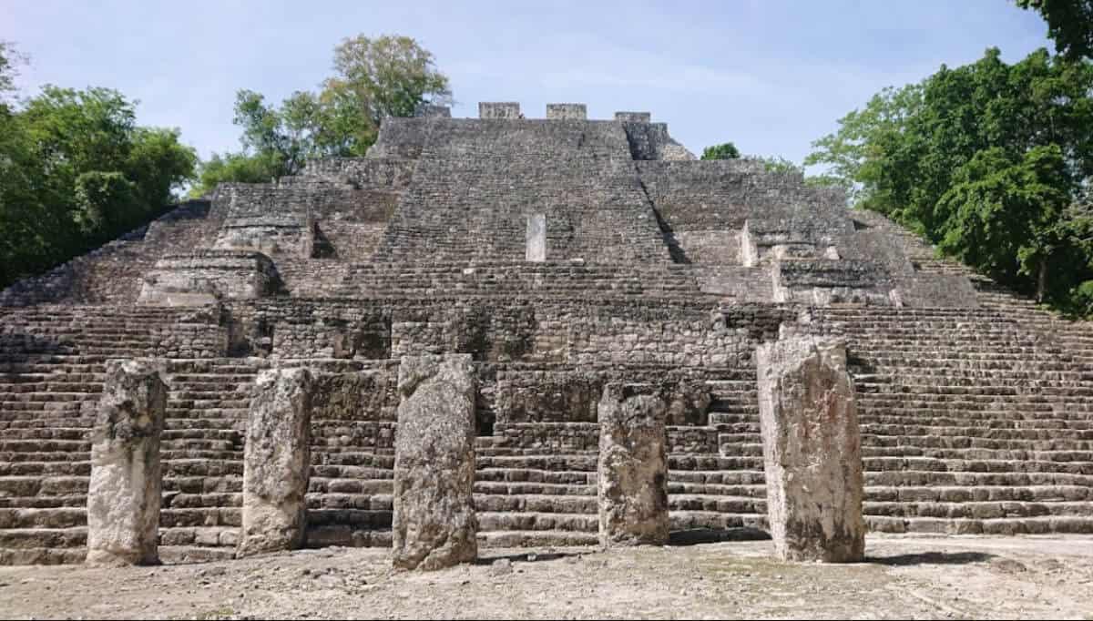 Calakmul Campeche - Estructura I