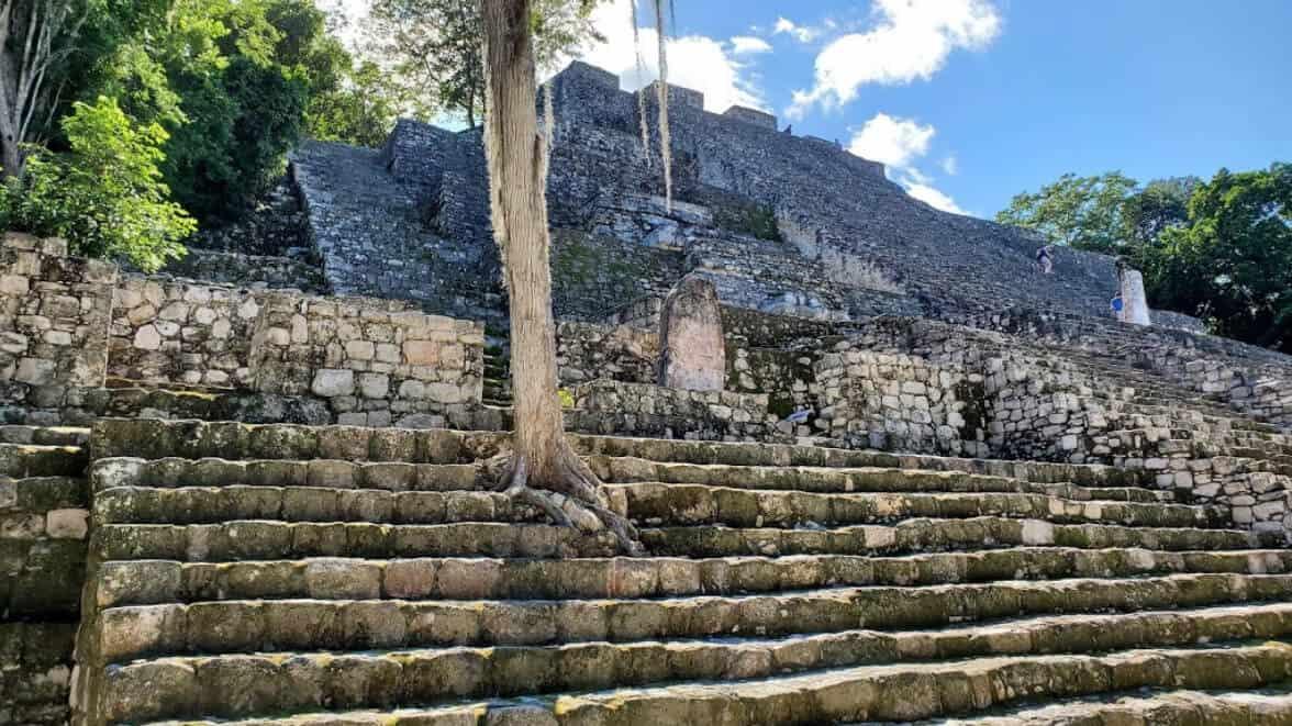 Calakmul Campeche - Estructura II